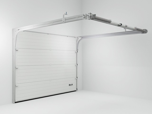 , Sectional garage door
