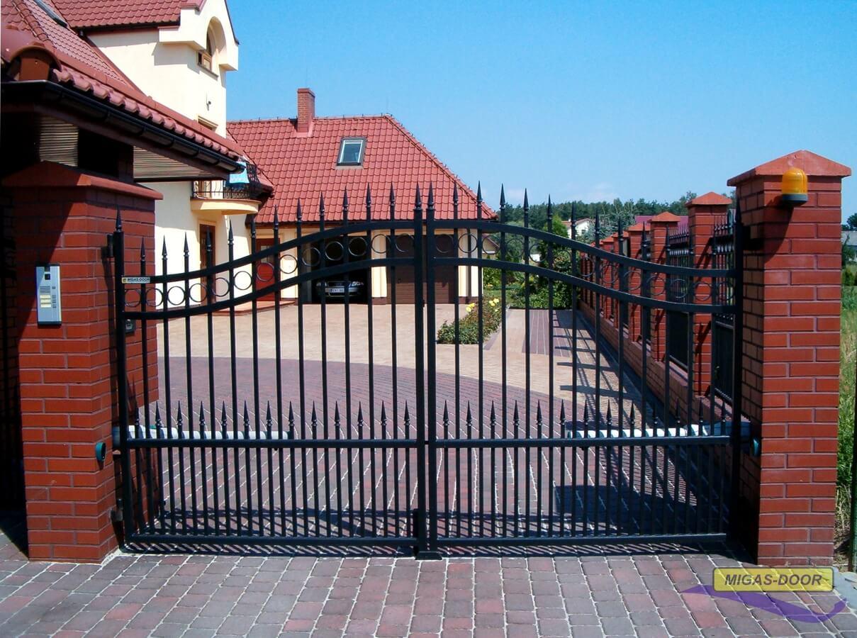 brama dwuksrzydłowa