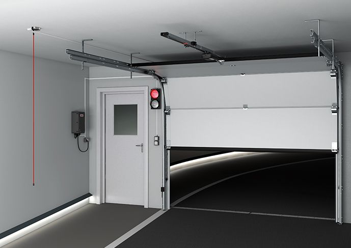 , Napęd do bramy garażowej – Sommer Tiga+