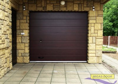 , Bramy garażowe – segmentowe