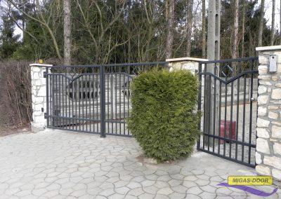 brama dwuskrzydlowa ogrodzeniowa furtka