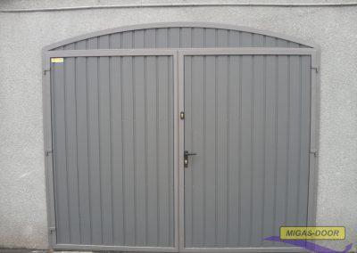 , Drzwi stalowe jednoskrzydłowe – blacha trapezowa