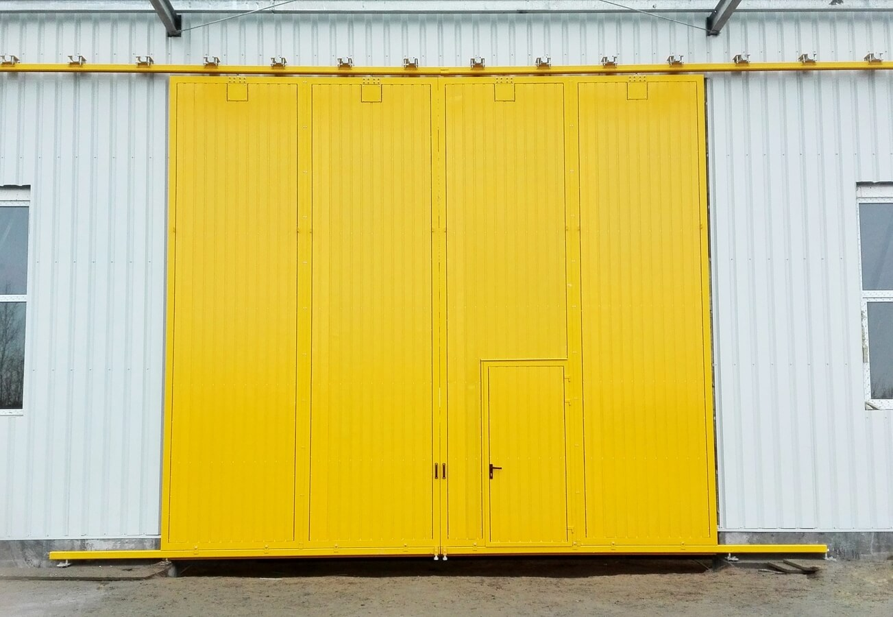, Indrustial sliding doors and gates