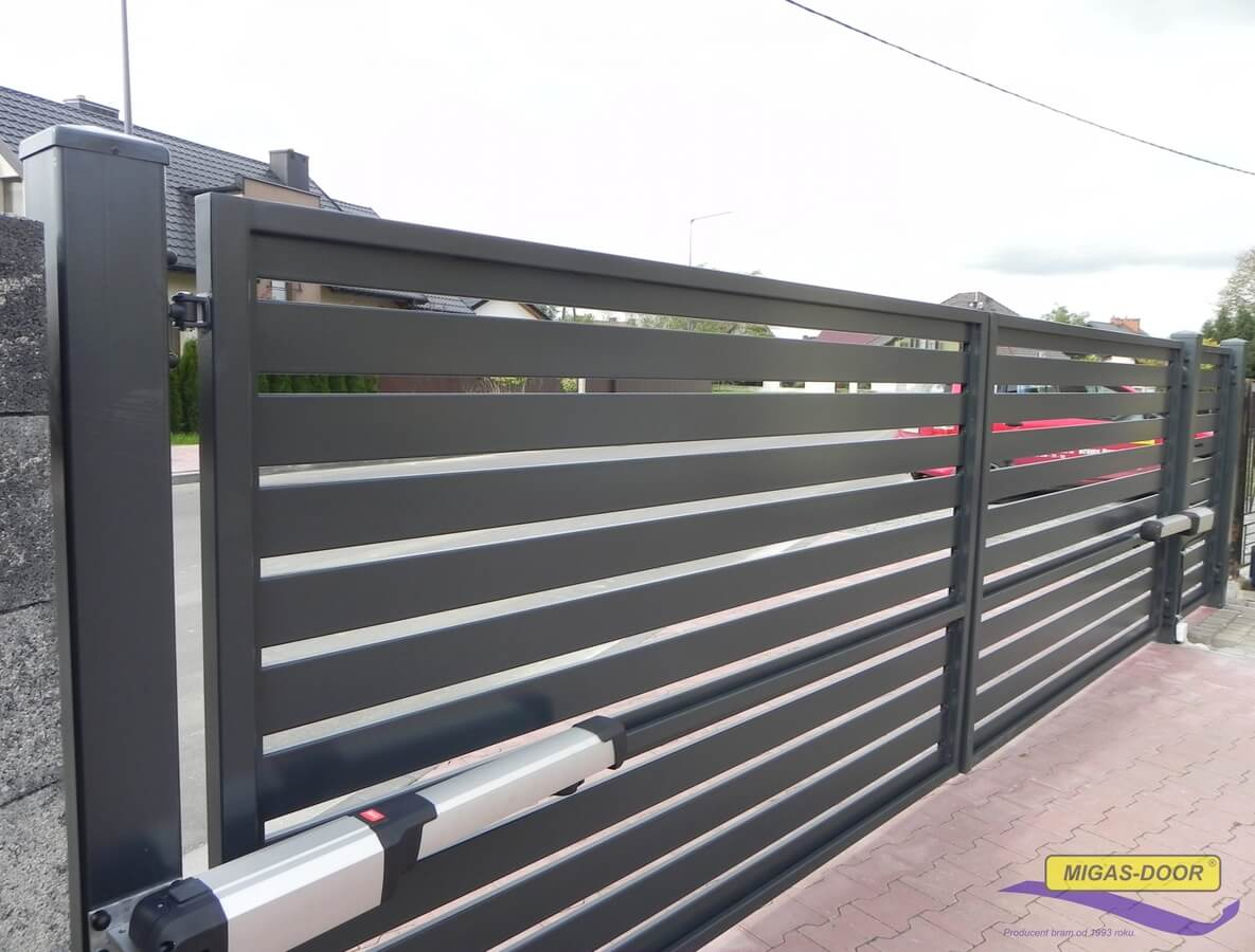 , Double-leaf fence gates