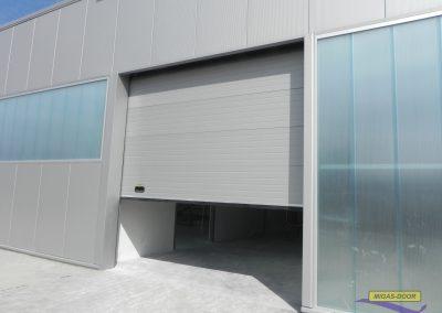 , Industrial sectional door