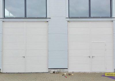 bramy garazowe dwuskrzydlowe przemyslowe
