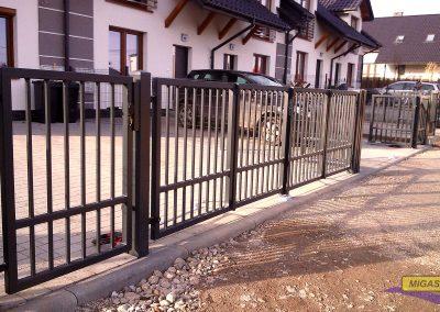 bramy ogrodzeniowe harmonijkowe