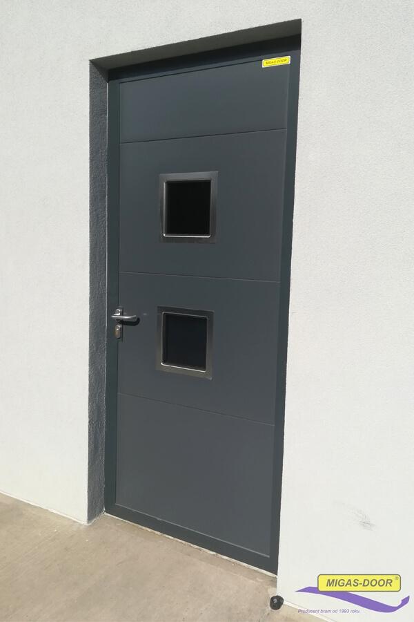 , Drzwi stalowe