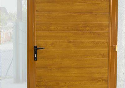 drzwi panel zloty dab