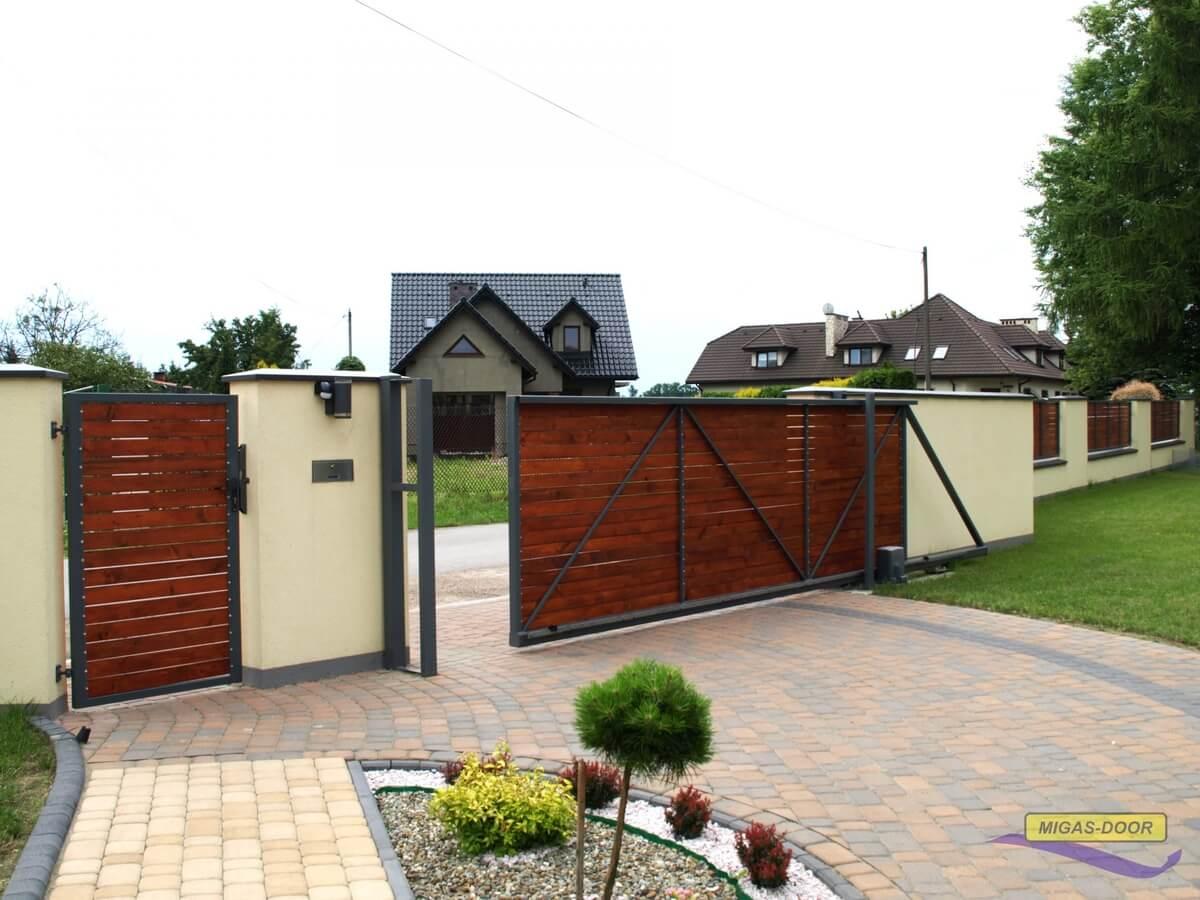 konstrukcja ogrodzenia
