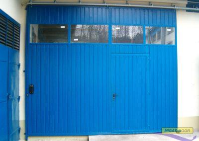 , Bramy garażowe – przesuwne