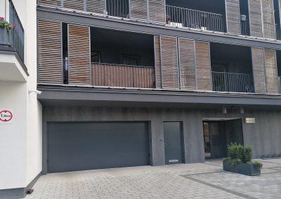 Brama garażowa segmentowa do garazu podziemnego