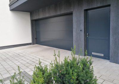 brama segmentowa do garażu podziemnego